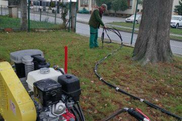 Injektáže kořenových systémů stromů